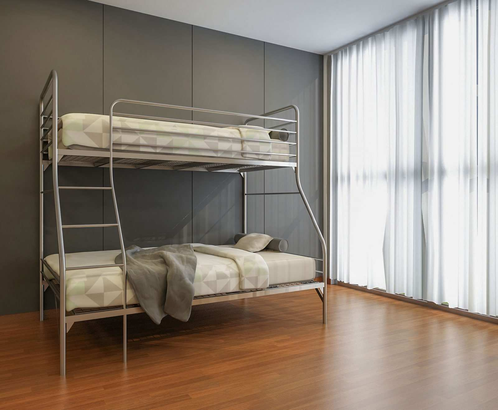 Picture of: Community Single Over Double Bunk Beds Best Bunk Beds